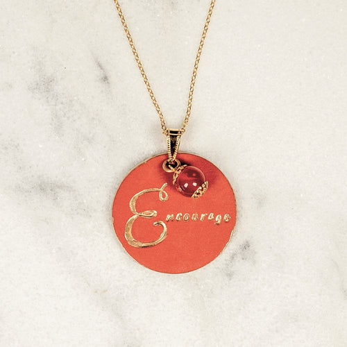Encourage - You Inspire Me - Carnelian