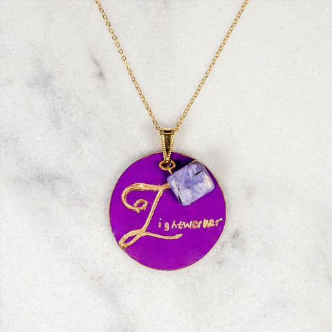 Lightworker - You Are My Lightworker - Charoite