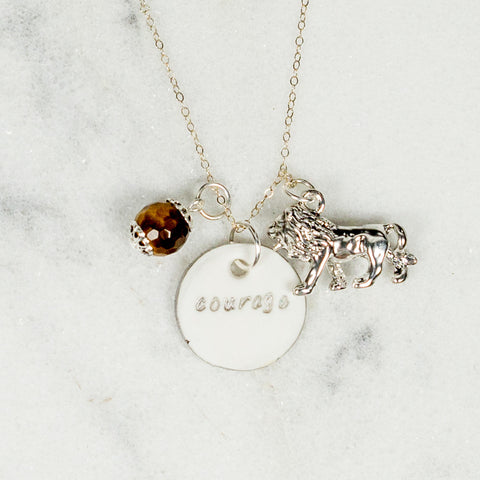 Courage - Tigers Eye - Lion