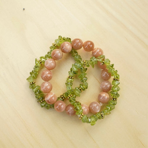 Sunstone & Peridot - Upliftment and Happiness