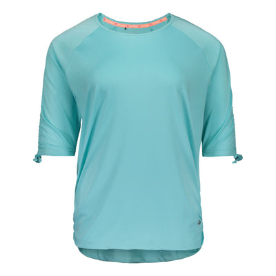 Raiski Shiba Women's Plus Size Shirt Blue