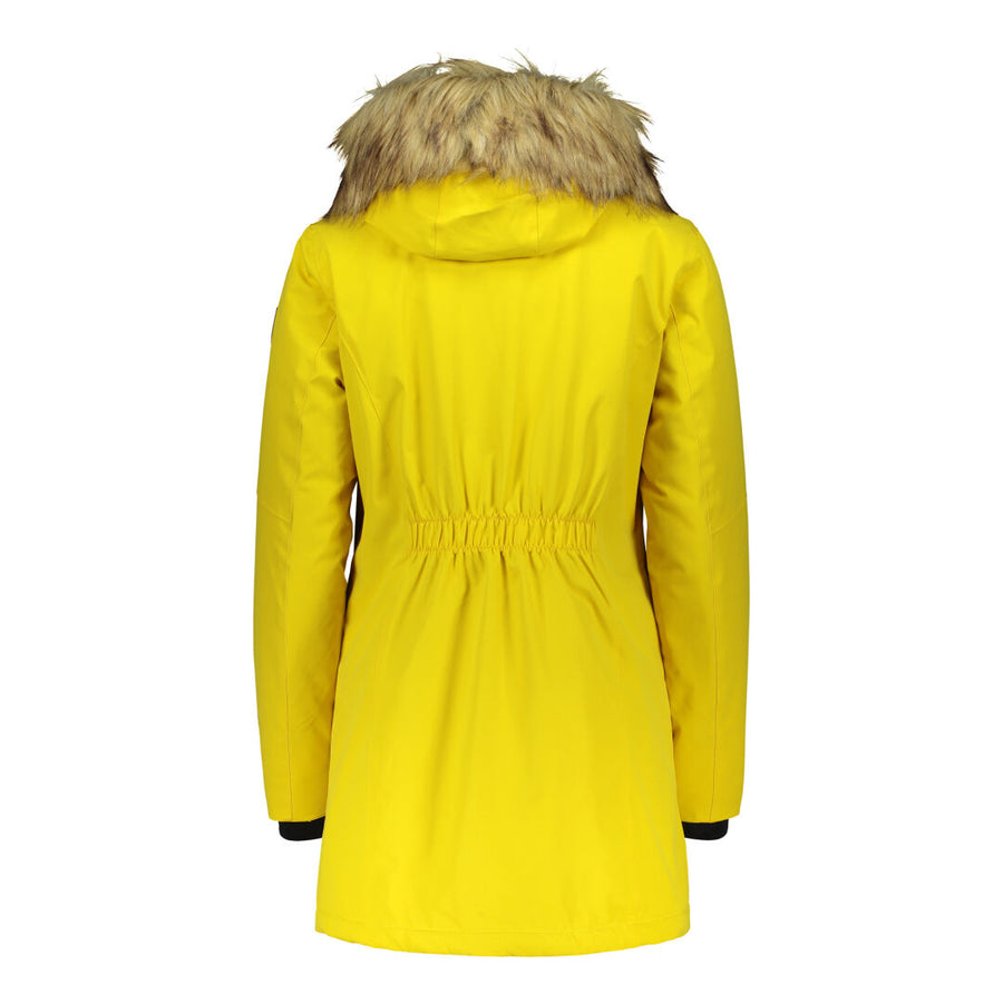 Raiski Sorla Womens Parka Jacket Yellow
