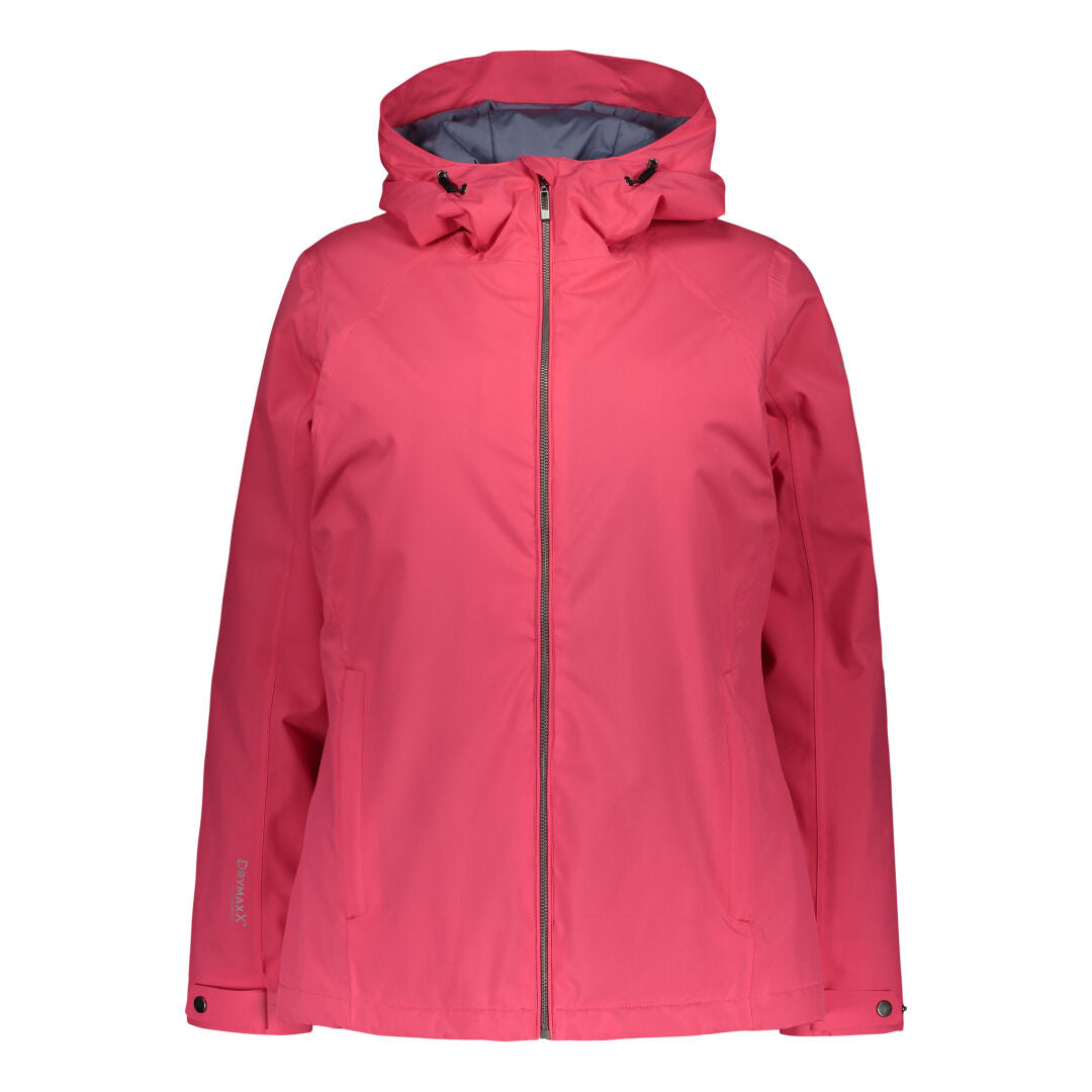 Raiski Akrasel Women's Ski Jacket For Plus Size Women Red