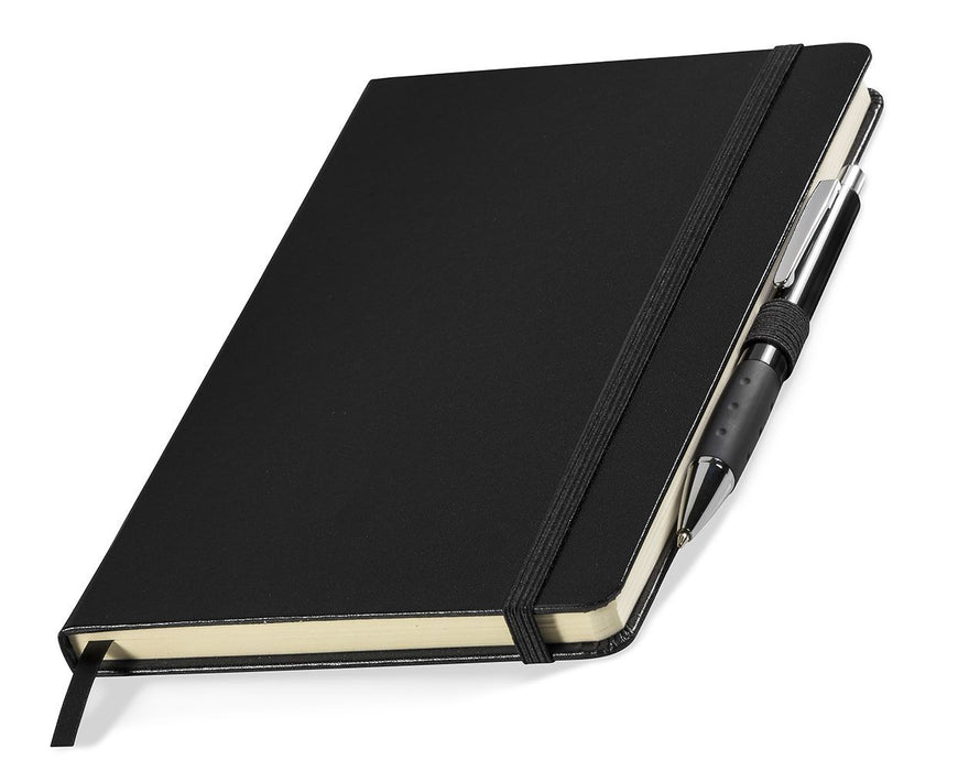 A5 Notebook with elastic band - [product_type]