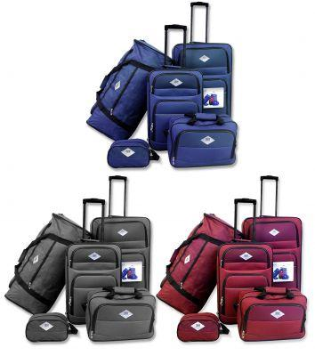Cassini Viaggio - 5 Piece Luggage Set - [product_type]