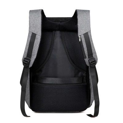 Anti-Theft Backpack with USB Charging Port - Blue - [product_type]