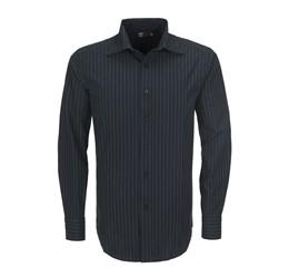 Mens Long Sleeve Pittsburgh Striped Shirt - [product_type]