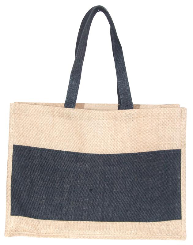 Two Tone Jute Shopper - [product_type]