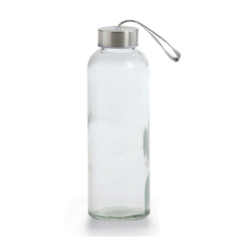 Hydrate Glass Water Bottle With Sleeve