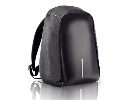 Anti-Theft Backpack with USB Charging Port - Black
