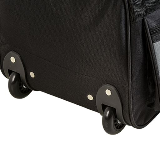 Rolling Duffle with Coloured Front Pockets