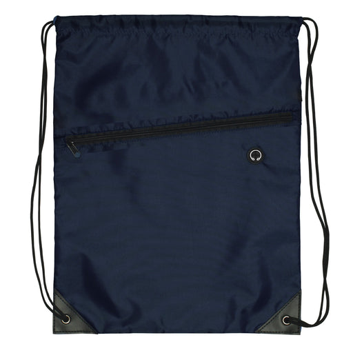 Zip Drawstring Bag