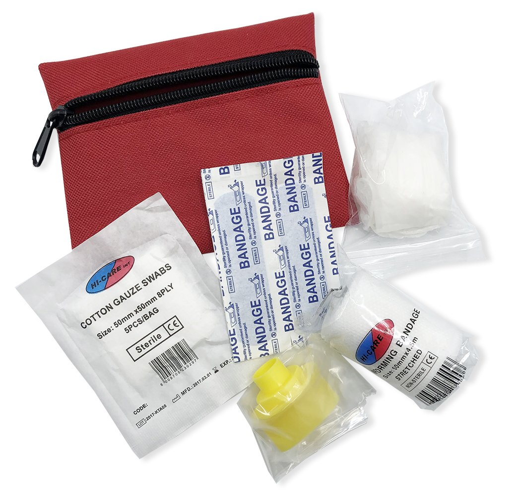 Mini First Aid Kit In Zip Pouch - [product_type]
