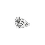 Love Rays Signet Ring