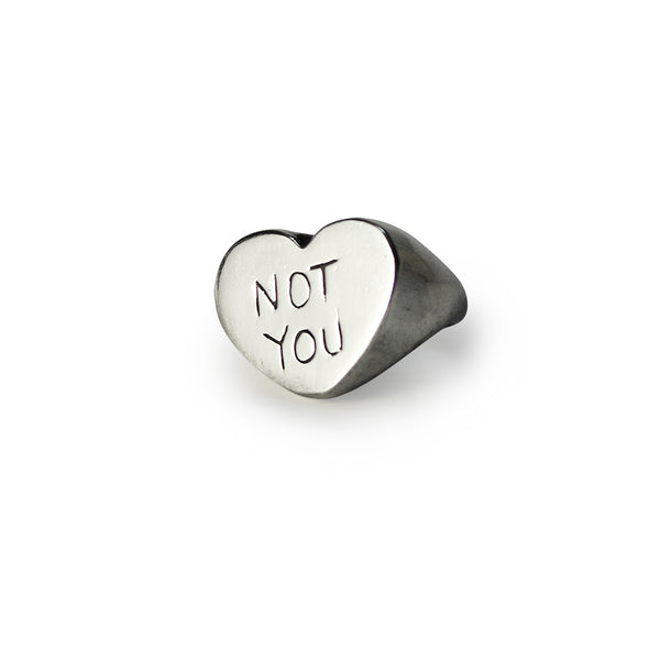 Not You Signet Ring