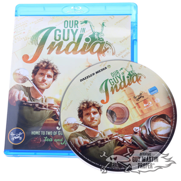 Guy Martin Our Guy in India DVD/BluRay