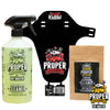 General Cleaner Bundle Deal! Starter Pack and Red Mountain bike Fender!! Save over £3!