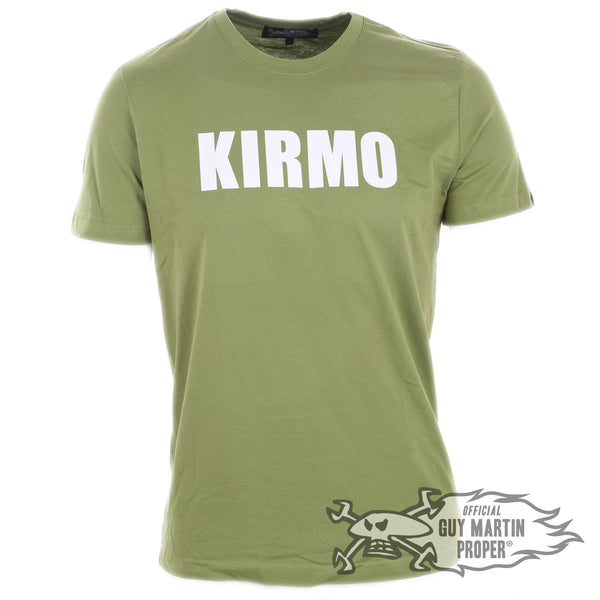 Guy Martin T Shirt in Black or Cammo green 'Kirmo'