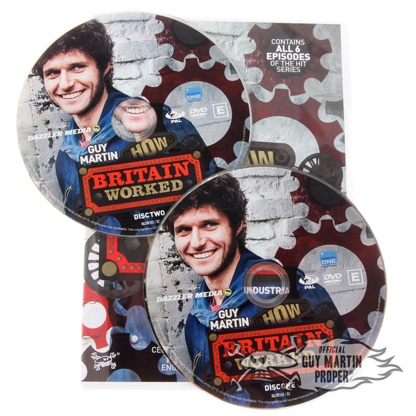 Guy Martin How Britain Worked DVD