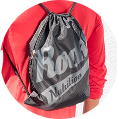 Rocka Nutrition Gymbag in schwarz