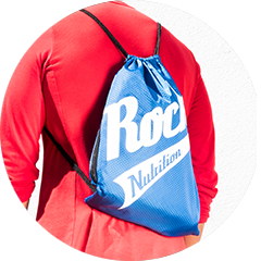 Rocka Nutrition Gymbag in blau
