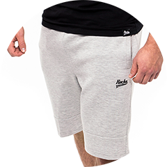 Performance Shorts in grau