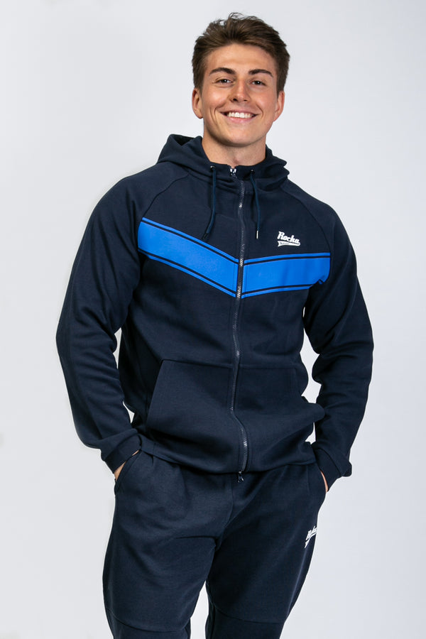 Performance Zipper | Navy
