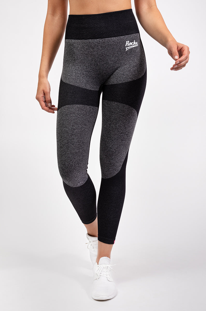 Seamless Tights | Grey Melange