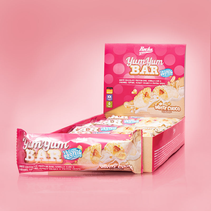Yum Yum Bar | White Choco Crisp