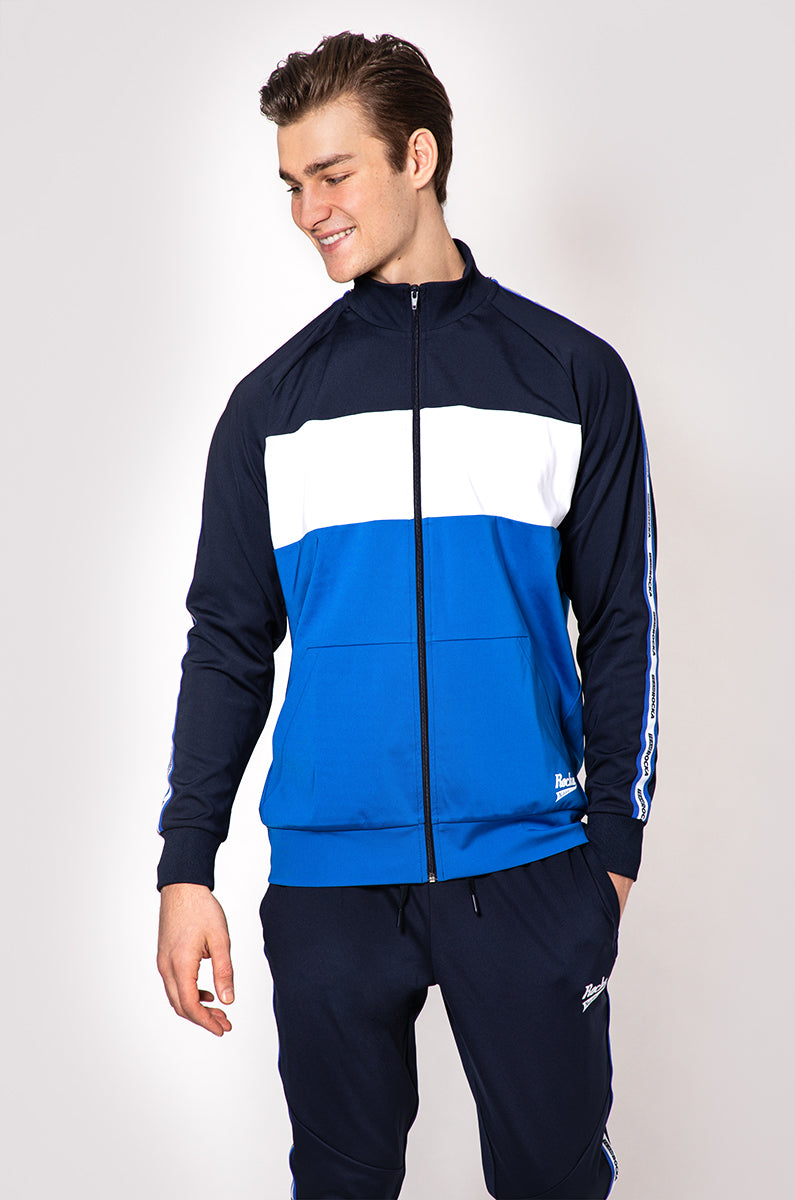 Track Jacket | Navy / Royal