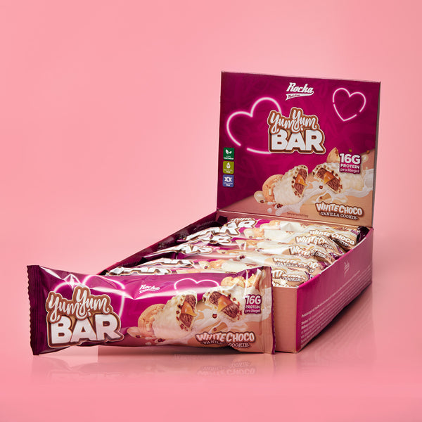 Yum Yum Bar | White Choco Vanilla Cookie