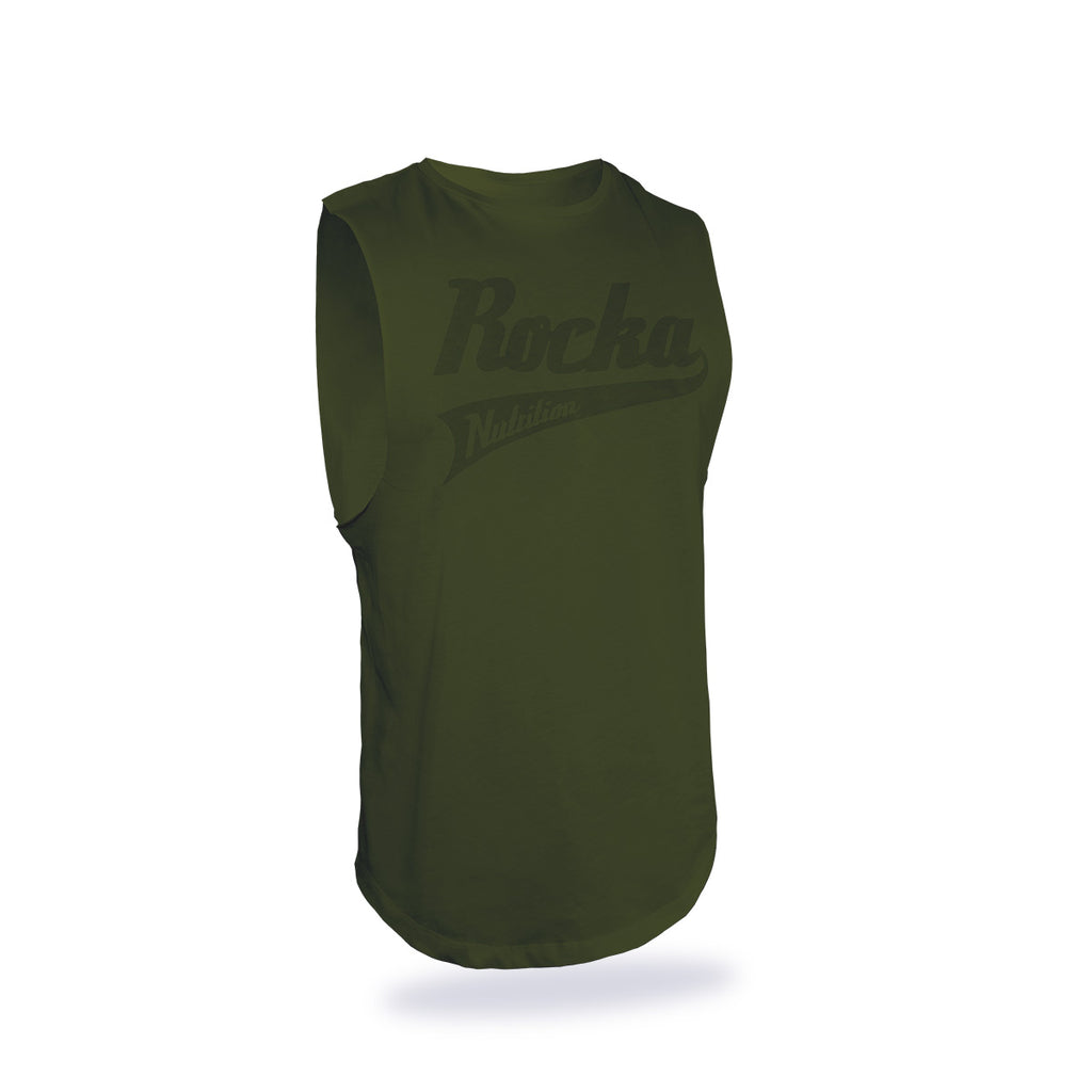 Oversize Sleeveless Shirt | Military