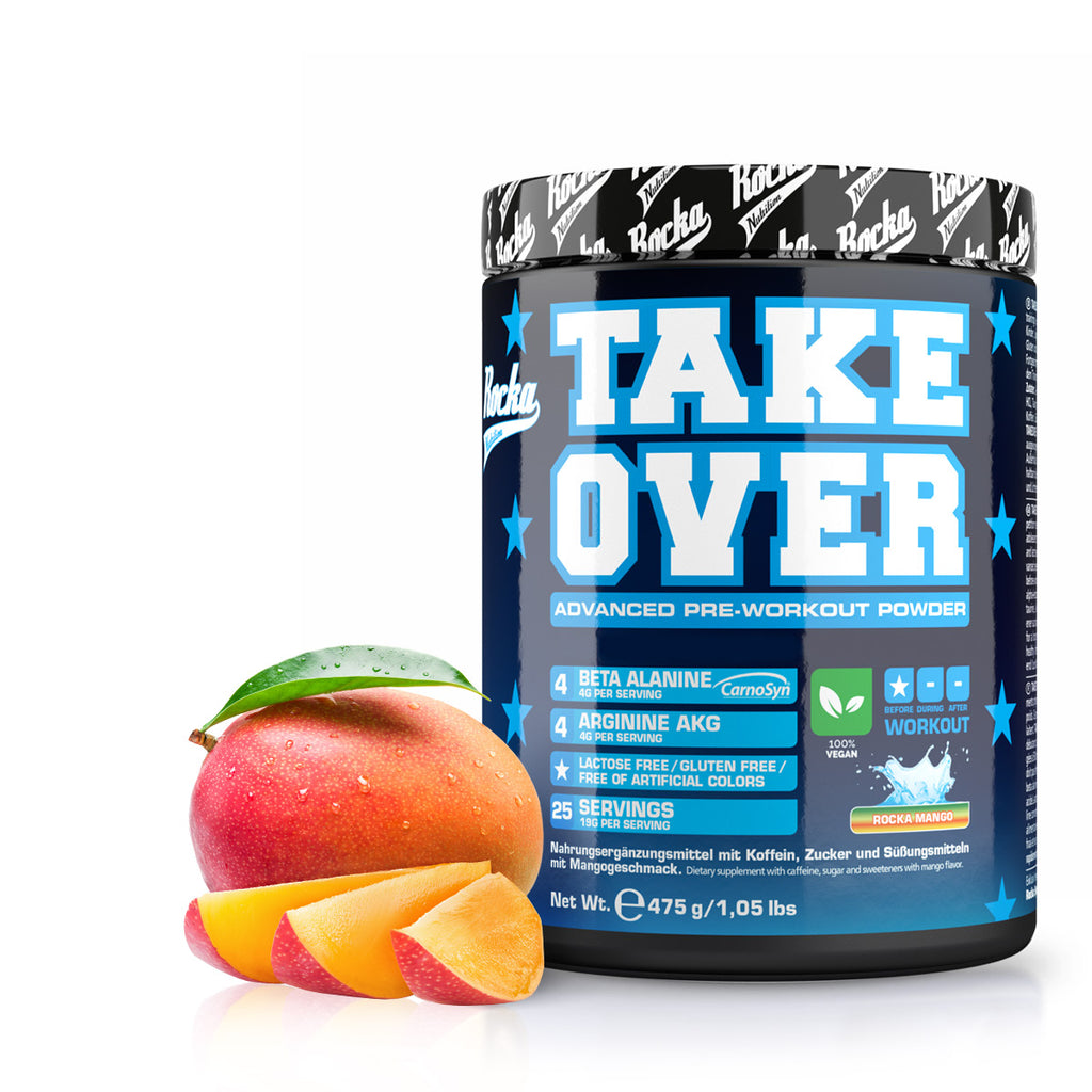 Takeover Rocka Mango Trainingsbooster
