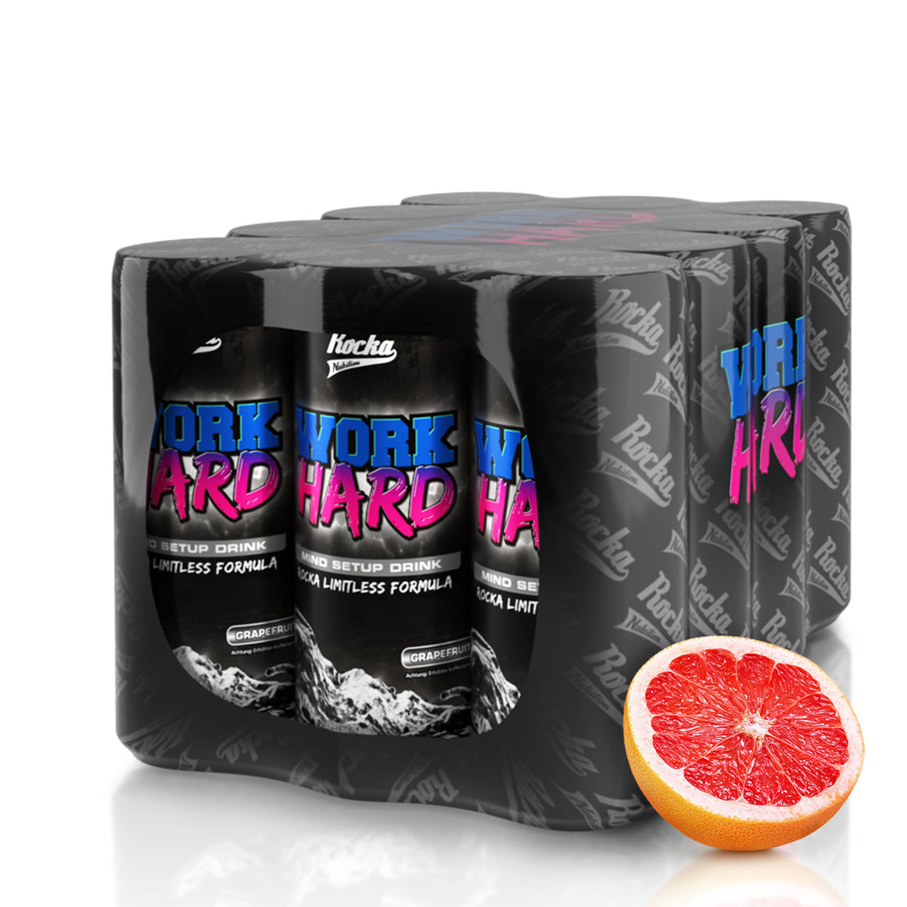 Work Hard Mind Booster Drink 12er Pack