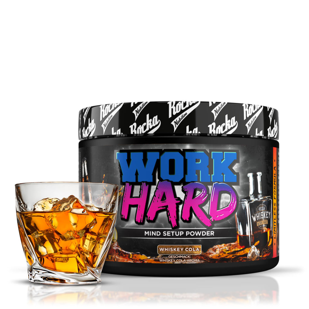 Work Hard Mind Booster | Whiskey Cola