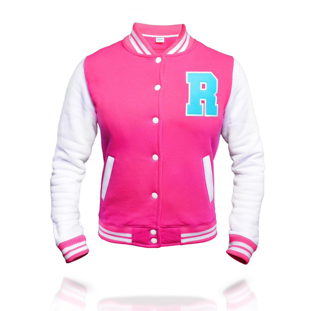 Rocka College Jacke in pink