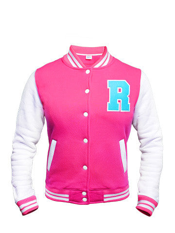 Rocka College Jacket | Pink