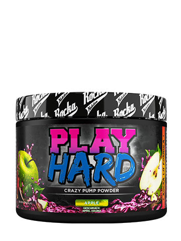 Play Hard Pump Booster Apfel