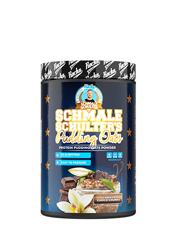 Schmale Schulter Pudding Oats | Vanilla Choco Chunks