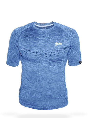 Seamless Shirt | Heather Blue
