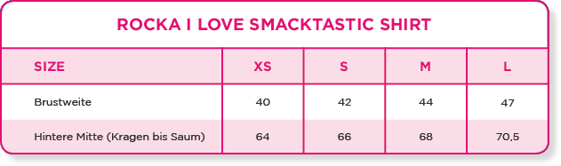 Rocka I love Smacktastic Shirt | White