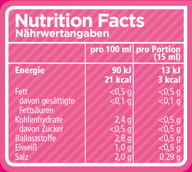 Nutritionfacts-Tabelle-sauce-zero-italiano
