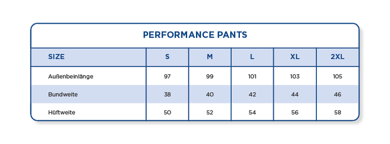 Performance Pants | Salmon Ltd.