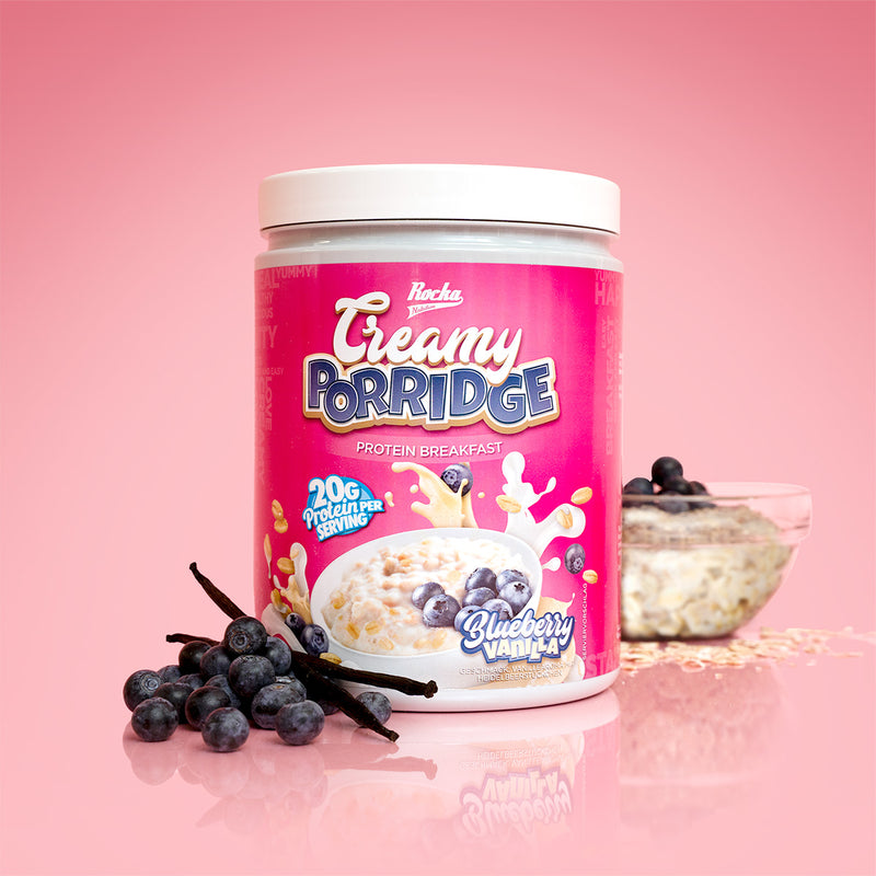 Creamy Porridge | Blueberry Vanilla
