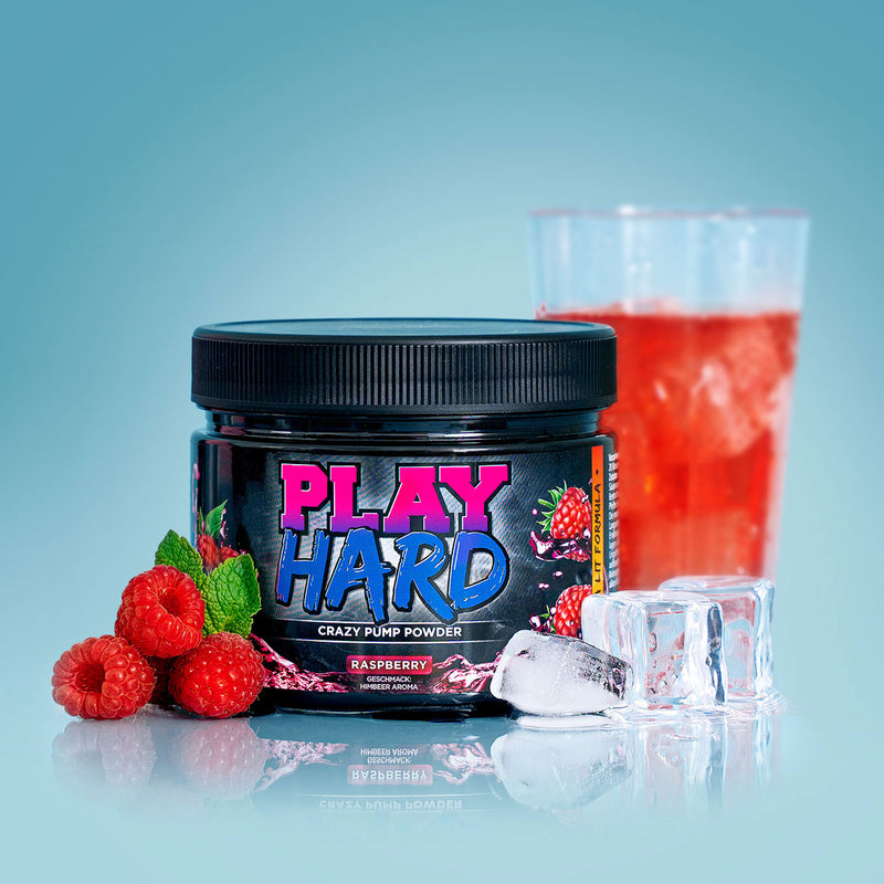 Play Hard Pump Booster | Raspberry