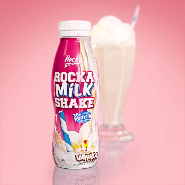 Rocka Milk Shake | Vanilla and Cream