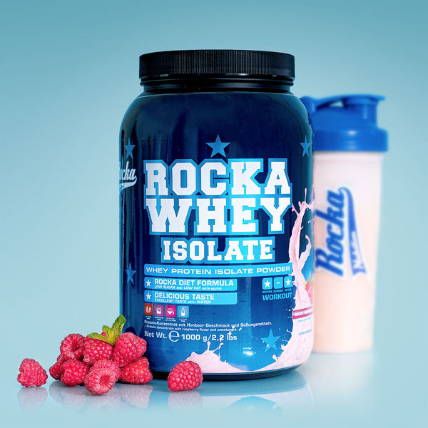 Rocka Whey Isolate | Rocka Raspberry