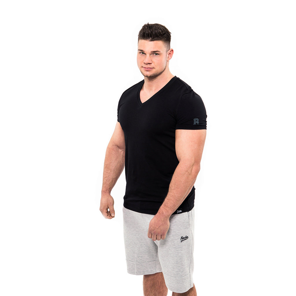 V-Neck Shirt | Black