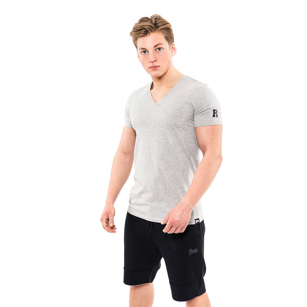 V-Neck Shirt | Heather Grey