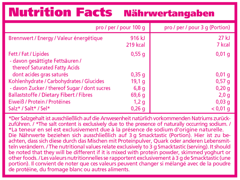 Nutritionfacts-Tabelle-smacktastic-chocogasm